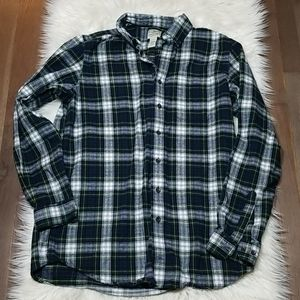 L.L. Bean Traditional Fit Flannel Button Down